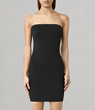 Mujer Bri Dress (Black) - product_image_alt_text_1
