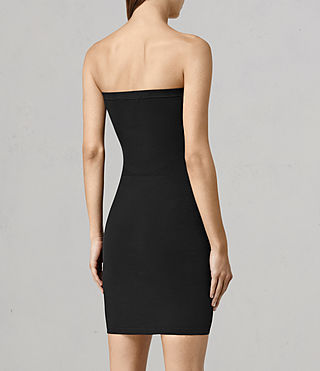Women's Bri Slip Dress (Black) - product_image_alt_text_3