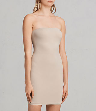 Women's Bri Slip Dress (Taupe) - Image 3