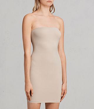 Donne Bri Dress (Taupe) - product_image_alt_text_3