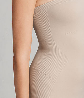 Women's Bri Slip Dress (Taupe) - Image 4