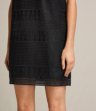 Mujer Charlton Lace Dress (Black) - product_image_alt_text_5