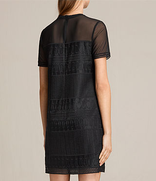 Mujer Charlton Lace Dress (Black) - product_image_alt_text_7