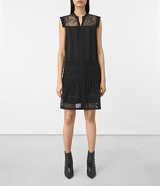 Womens Nia Jolene Dress (Black) - product_image_alt_text_1