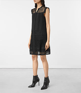 Womens Nia Jolene Dress (Black) - product_image_alt_text_3