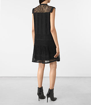 Womens Nia Jolene Dress (Black) - product_image_alt_text_5
