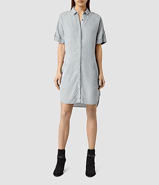 Womens Mel Dress / Light Grey (Grey)