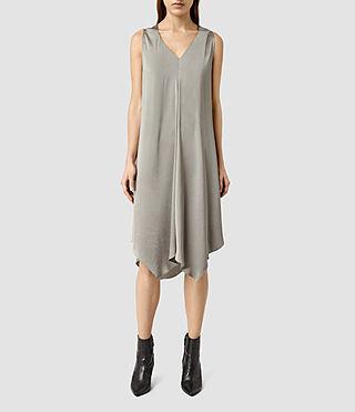 Womens Blaze Dress (Steel Grey)