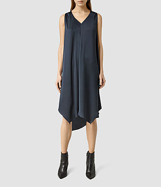 Damen Blaze Dress (Ink Blue) -