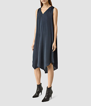 Damen Blaze Dress (Ink Blue) - product_image_alt_text_2
