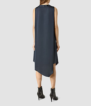 Damen Blaze Dress (Ink Blue) - product_image_alt_text_3