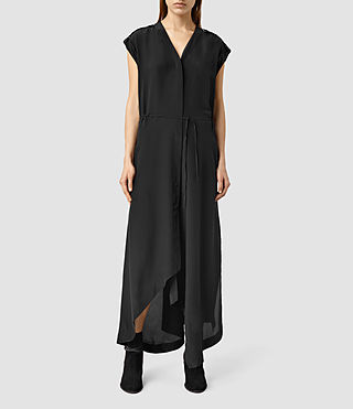 Womens Tate Dress (Black)
