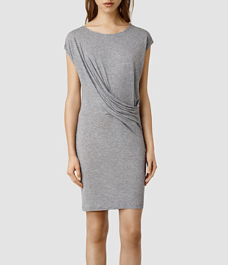 Women's Sabie Vi Dress (Silver Grey)