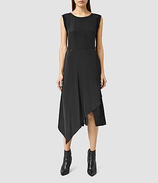 Womens Cecilia Dress (Black)