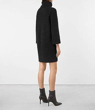 Donne Jago Dress (Cinder Black Marl) - product_image_alt_text_5
