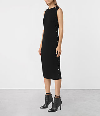 Damen Rossa Dress (Black) - product_image_alt_text_2