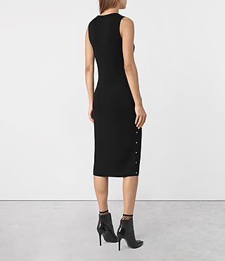 Damen Rossa Dress (Black) - product_image_alt_text_3