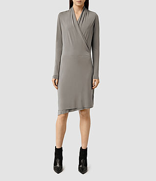 Womens Tame Dress (Pewter Grey)
