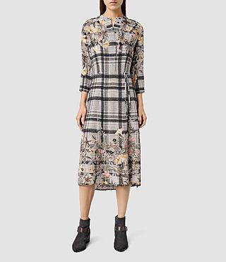Womens Volta Kinori Dress (Light Grey)