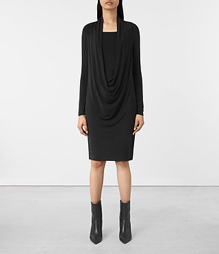 Womens Invi Dress (Black) - product_image_alt_text_1