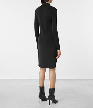 Womens Invi Dress (Black) - product_image_alt_text_5