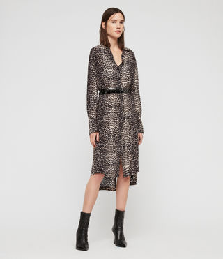 Anya Feline Shirt Dress