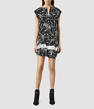 Womens Roka Willow Dress (Black)