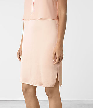 Mujer Zaha Dress (EGGSHELL PINK) - product_image_alt_text_2