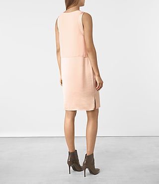 Mujer Zaha Dress (EGGSHELL PINK) - product_image_alt_text_4