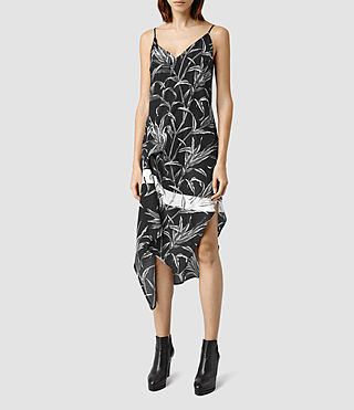 Womens Leto Willow Dress (Black)