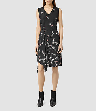 Womens Vista Canna Dress (Black)