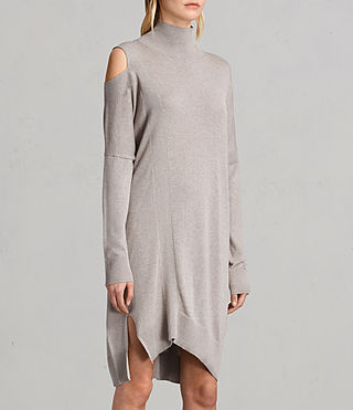 Womens Cecily Dress (Sable Brown Marl) - product_image_alt_text_3