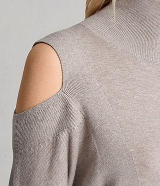 Damen Cecily Dress (SABLEBROWNMARL) - product_image_alt_text_2