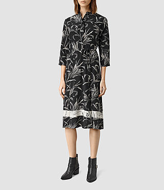 Womens Volta Willow Dress (Black)