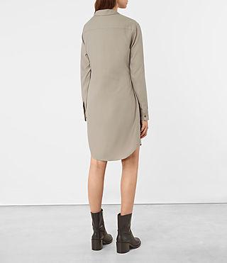 Femmes Jules Shirt Dress (Chrome Grey) - product_image_alt_text_4