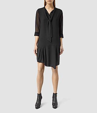 Womens Resonance Aura Dress (Black)