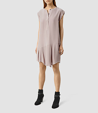 Womens Roka Dress (ROSE PINK)
