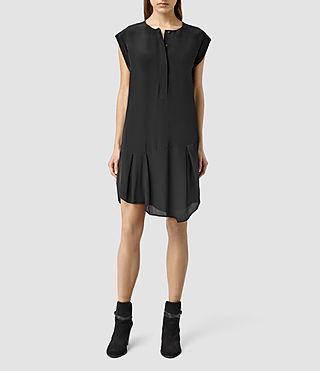 Womens Roka Dress (Black)