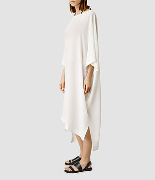 Womens Roma Dress (Chalk White)