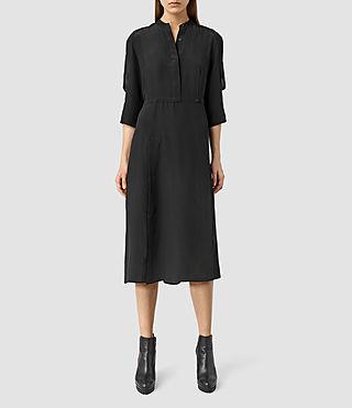 Womens Alva Dress (Black)