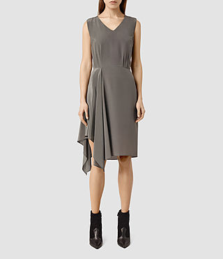 Womens Vista Dress (Slate Grey) - product_image_alt_text_2