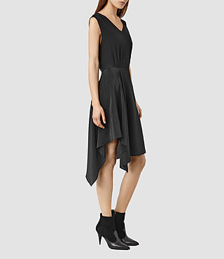Womens Vista Dress (Black)
