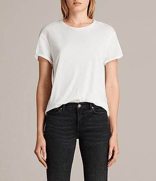 Womens Ada Tee (Chalk White) - product_image_alt_text_1