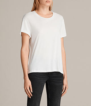 Womens Ada Tee (Chalk White) - product_image_alt_text_2