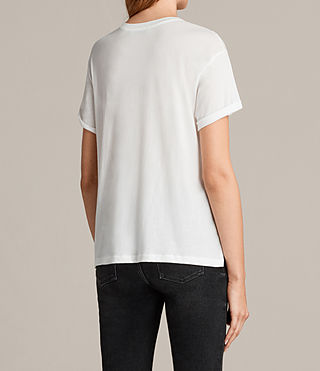 Women's Ada Tee (Chalk White) - product_image_alt_text_3