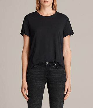 Damen Ada Tee (Black) -