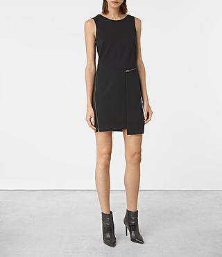 Womens Ado Dress (Black)