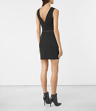 Womens Ado Dress (Black) - product_image_alt_text_2