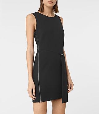 Womens Ado Dress (Black) - product_image_alt_text_3