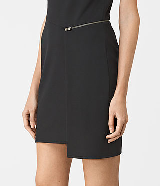 Womens Ado Dress (Black) - product_image_alt_text_4